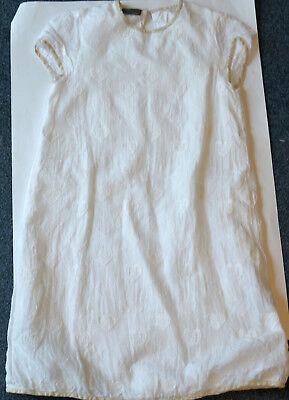 Edles Original Designer Kleid von Fendi Größe 10A 134 140 Hochzeit Taufe