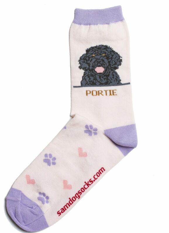 Portuguese Water Dog Socks