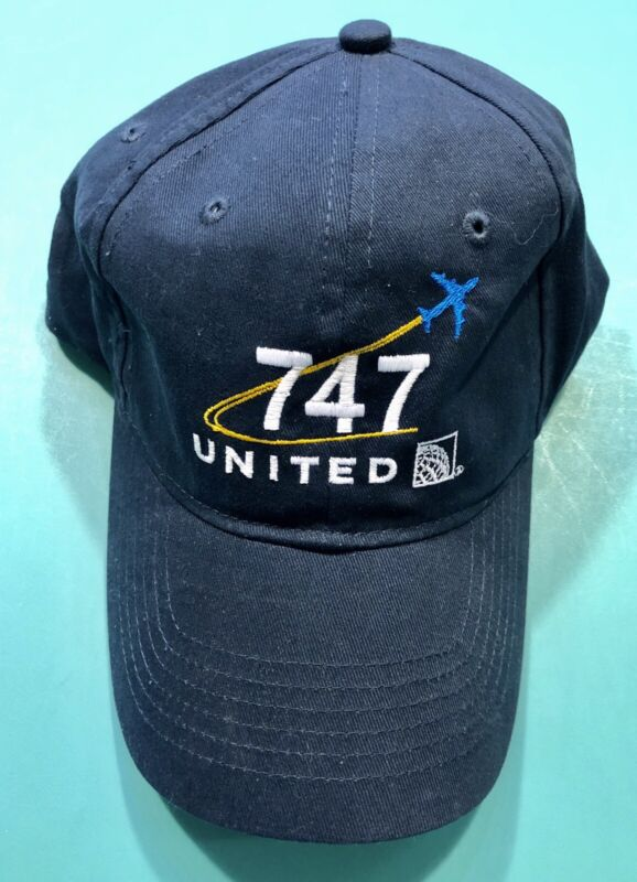 UNITED AIRLINES 747 HAT