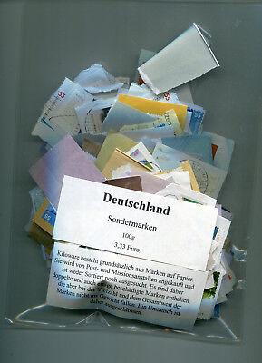 Kiloware Briefmarken Deutschland Sondermarken 100g abgepakt