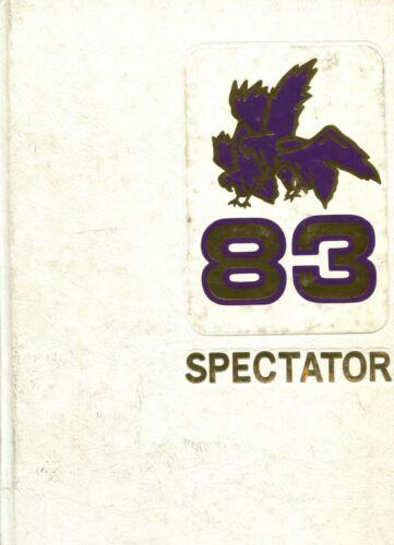 CIVIC MEMORIAL HIGH SCHOOL, BETHALTO, ILLINOIS YEARBOOK - SPECTATOR - 1983