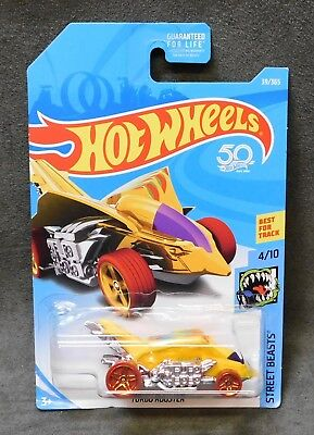 2018 Hot Wheels Car 39/365 Turbo Rooster - B or C Case