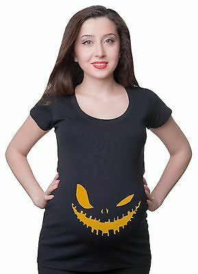 Maternity T Shirts Scary Halloween T-Shirt Pumpkin T shirts Mom Funny Maternity ](Maternity Halloween Pumpkin Shirts)