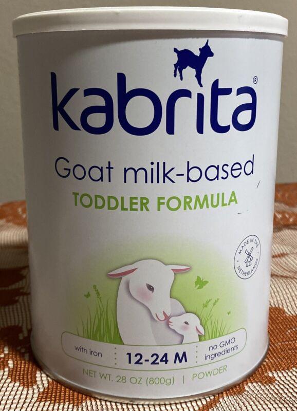 Kabrita Goat Milk Toddler Formula 12-24mo 1 Can 28 Ounce New