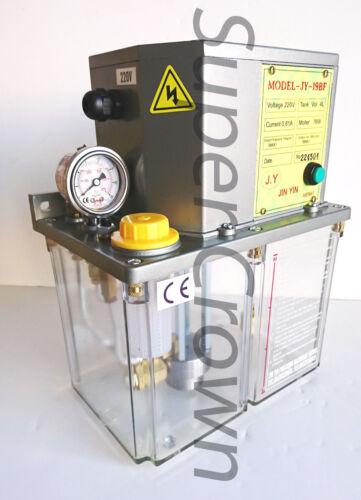 Industrial Electric Lubrication Pump 220V 4L 180cc/min, Jin-Yin, JY 19BF CNC CE