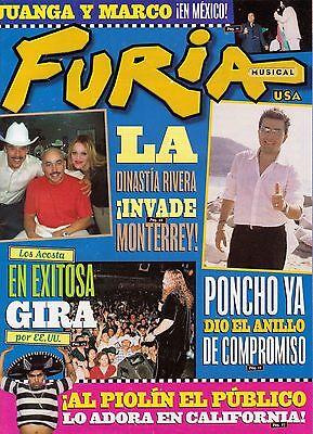 FURIA MUSICAL 2003, JUAN GABRIEL, LOS ACOSTA, BOBBY PULIDO, TV Y NOVELAS