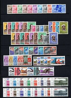 Belgisch Congo Belge - Rep. Congo Kinshasa Collection MH sets (1) c56.45Eu.