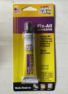 Super Glue Fix-all Adhesive 58 Fl Oz 18.4 Ml . New Ships Free