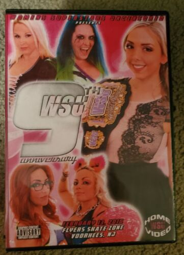 WSU Women s Wrestling 9th Anniversary DVD February 2016 Penelope Ford Lufisto - $7.95