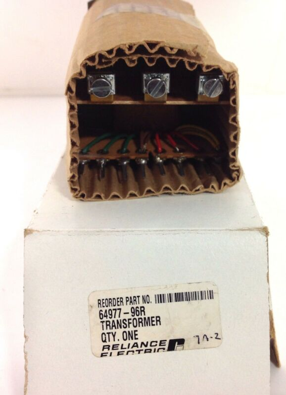 RELIANCE ELECTRIC TRANSFORMER NIB 64977-96R