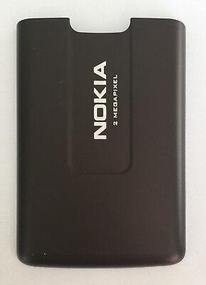 ORIGINAL NOKIA 6270 AKKUDECKEL BATTERY COVER BRAUN Mocca NEU