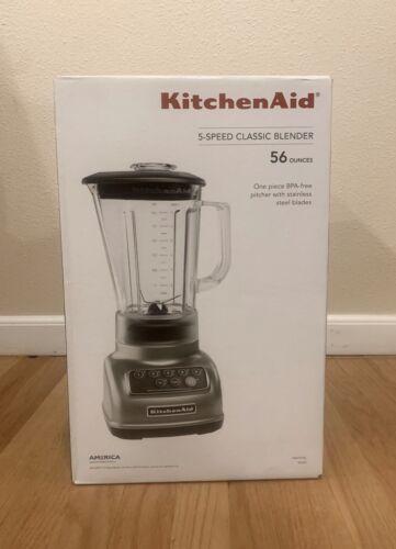 KitchenAid KSB1570SL 5-Speed Blender with 56-Ounce BPA-Free