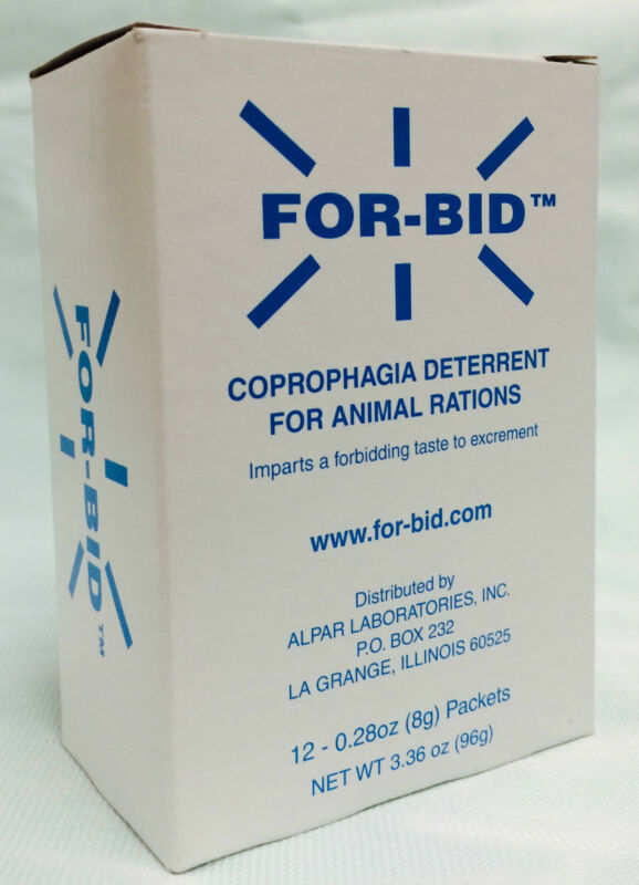 For-Bid for DOGS Stop Stool Poop Eating Coprophagic Packets Forbid ~ PICK SIZE