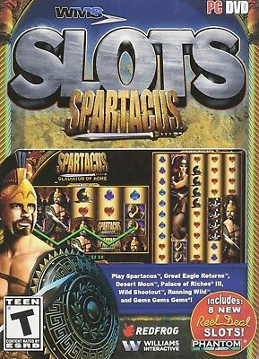 WMS Slots: Spartacus Casino Games for Windows PC Reel Deal Phantom Classic Spin