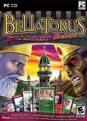 Computer Games - Bellatorus Deluxe PC Games Windows 10 8 7 XP Computer strategy card game NEW