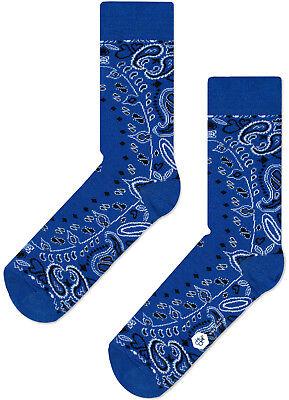CHEAPO Bandana blue socks calzini invernali blu
