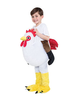 Chicken Step In Childs Kids Fancy Dress Costume Outfit Easter - Kids Chicken Outfit