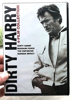 FILM FAVORITES DIRTY HARRY DELUXE EDITION CLINT EASTWOOD DON SIEGEL DVD DISCS 4