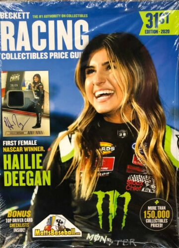 2020 Beckett Racing Collectibles Price Guide 31st Edit Nascar Cards, Nhra Cars