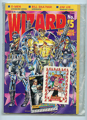 Wizard Magazine Issue  15 Brand New Mint  Bagged 1992 Comic News   Entertainment