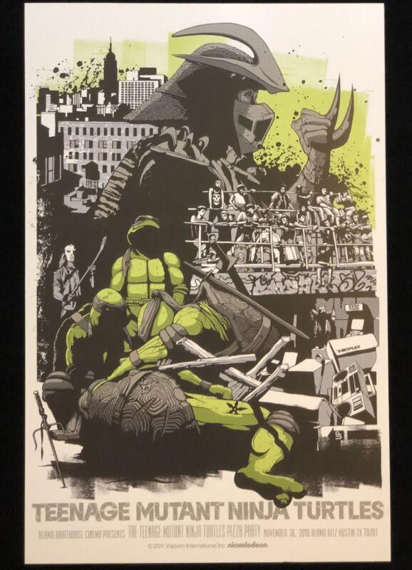11x17 Secret Of The Ooze TMNT Teenage Mutant Ninja Turtles High Quality Print!!