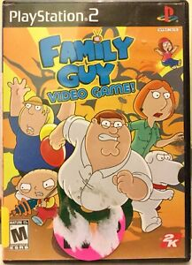 Family Guy PS2 and DVD Games (pair)