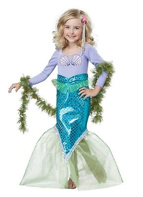 California Costumes Magical Mermaid Toddler Halloween Costume 00012](Toddler Mermaid Halloween Costume)