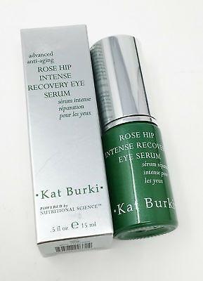 KAT BURKI Rose Hip Intense Recovery Eye Serum 15ml (Vitamin C, Retinol) NEW
