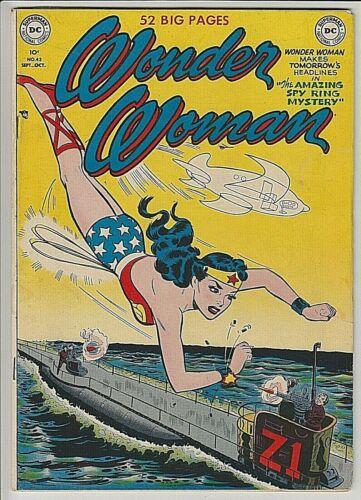 Wonder Woman Comics #43 F+ 6.5 VERY NICE EYE APPEAL FOR GRADE !