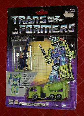 G1 Transformers Original Mexican Constructicon Mixmaster Devastator