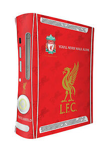 Liverpool Football Club Xbox 360 Console Skin Sticker Brand New