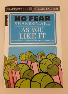 As You Like It, No Fear Shakespeare (NEW)