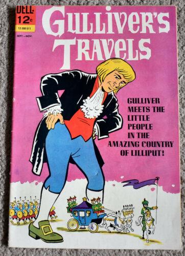 GULLIVERS TRAVELS 1 VF-  Sept.-Nov. 1965 COMICS BOOK
