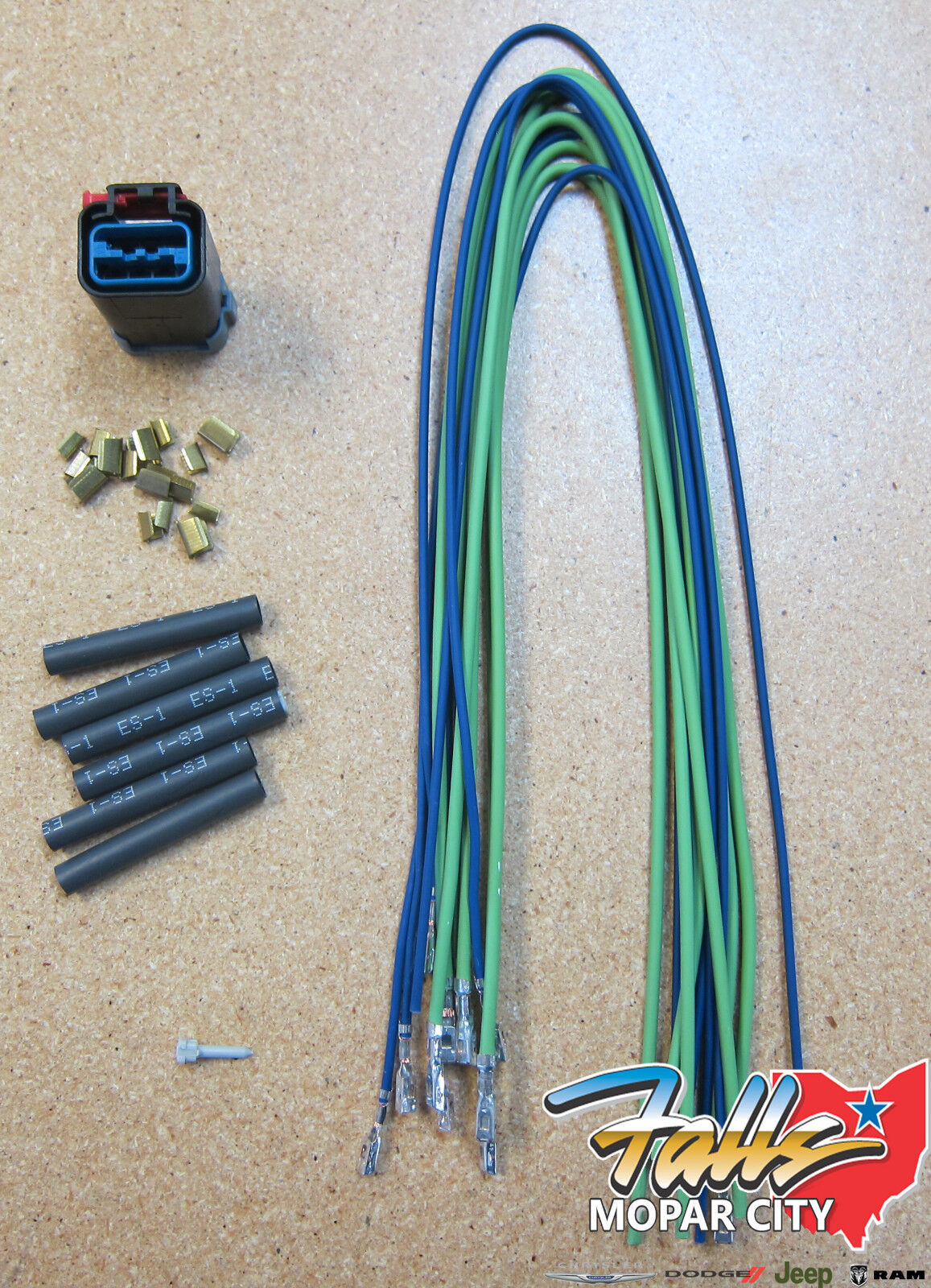2002 - 2006 Dodge Ram 1500 & 2500 Tail Light Wiring Harness Repair Kit  Mopar OEM | eBayeBay