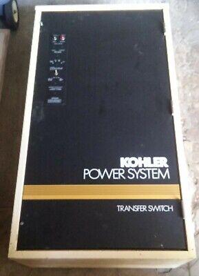 Kohler 30-4000 Amp Series S340 Automatic Generator Transfer Switch W Manual
