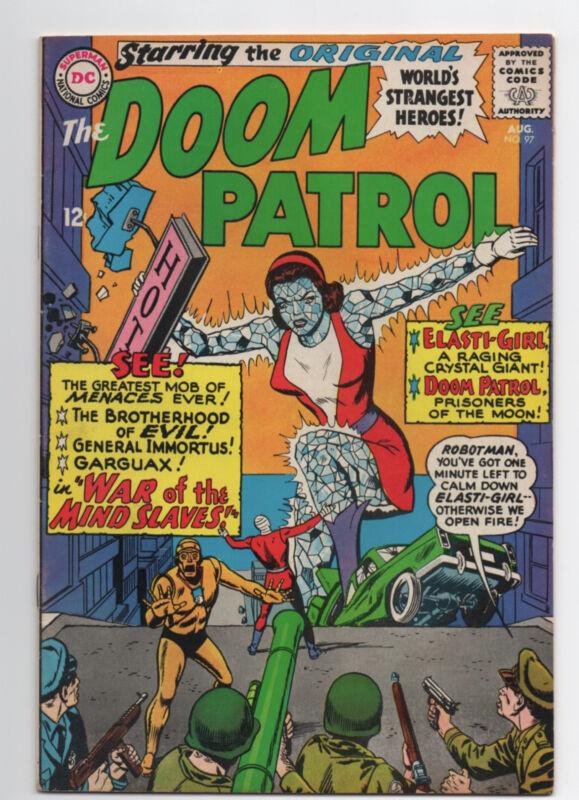 DC COMICS  DOOM PATROL  #97  1965  SHARP COPY  SILVER AGE