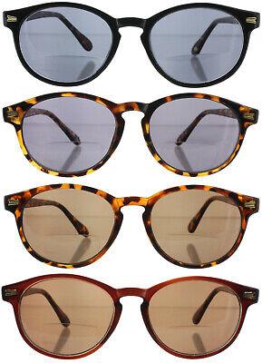 Reading Glasses Readers Bifocal Sunglasses Round Professor Men (Sunglass Readers For Men)