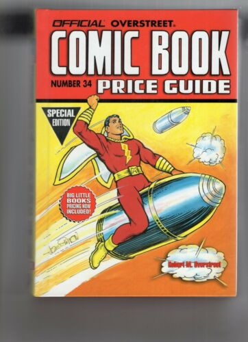 Overstreet Comic Book Price Guides #33-35 Hardcover VF