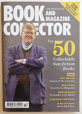 BOOK & MAGAZINE COLLECTOR #293 - 4/2008 - Alan Bennett, Weird Tales