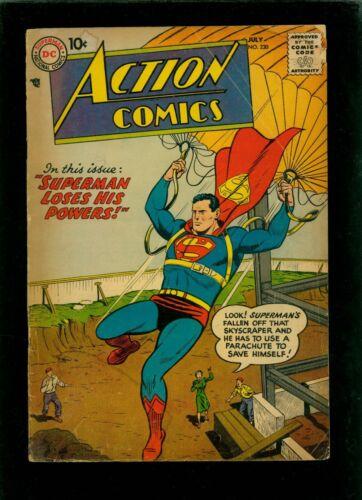 Action Comics 230 GD 2.0