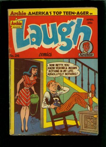 Laugh Comics 26 VG 4.0
