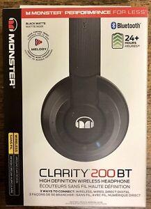 Monster Clarity 200BT Headphones (BNIB)