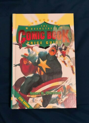 OVERSTREET COMIC BOOK PRICE GUIDE No. 29 Avengers Hardcover 1999