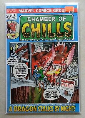 Chamber of Chills #1 $35.00 (Nov 1972, Marvel) 7.0 FN/VF P.