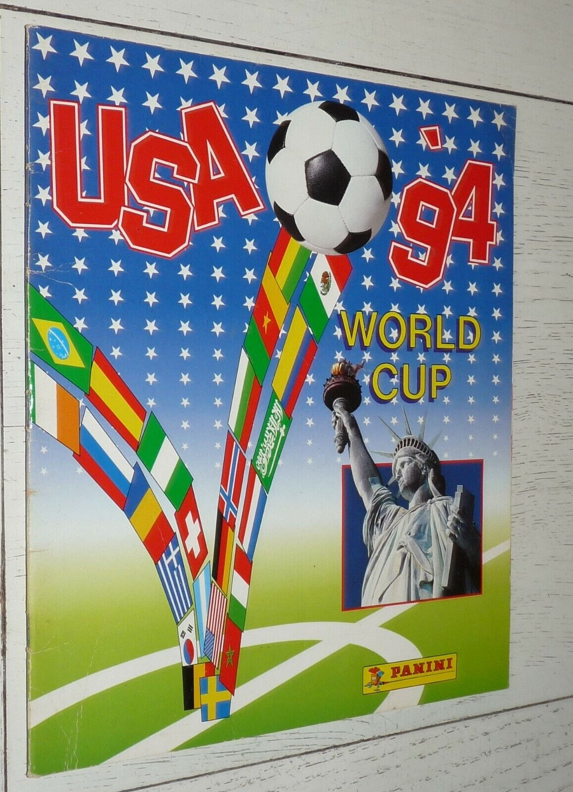 album panini football usa 94 1994 coupe monde incomplet 239/330