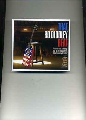 THAT BO DIDDLEY BEAT - CARL PERKINS GENE VINCENT CHUCK BERRY - 2 CDS - NEW!!