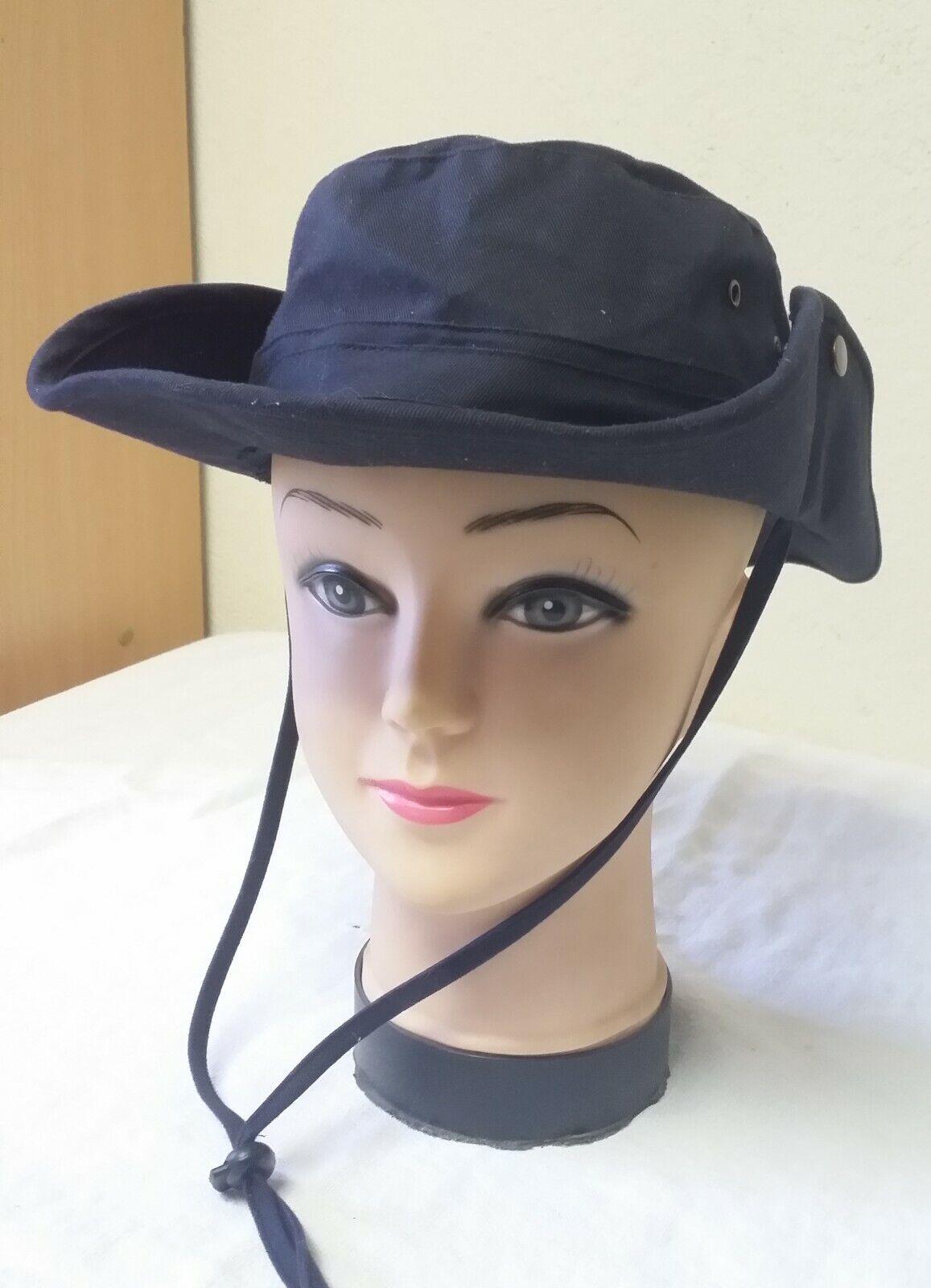 Chapeau en polyester  taille 56 - 58 cm  bleu