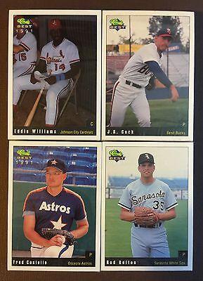 1991 CLASSIC Best BEND-Independant  Minor League Complete UNOPEN Set  (Best Independent Baseball Leagues)