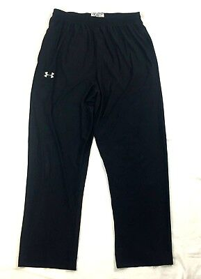 Vtg Under Armour MC HAMMER Black Pants Men's Sz Large Hip Hop Baggy Made in USA