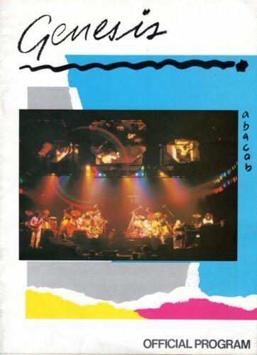 GENESIS 1981 ABACAB US TOUR CONCERT PROGRAM BOOK BOOKLET PHIL COLLINS VG TO NMT